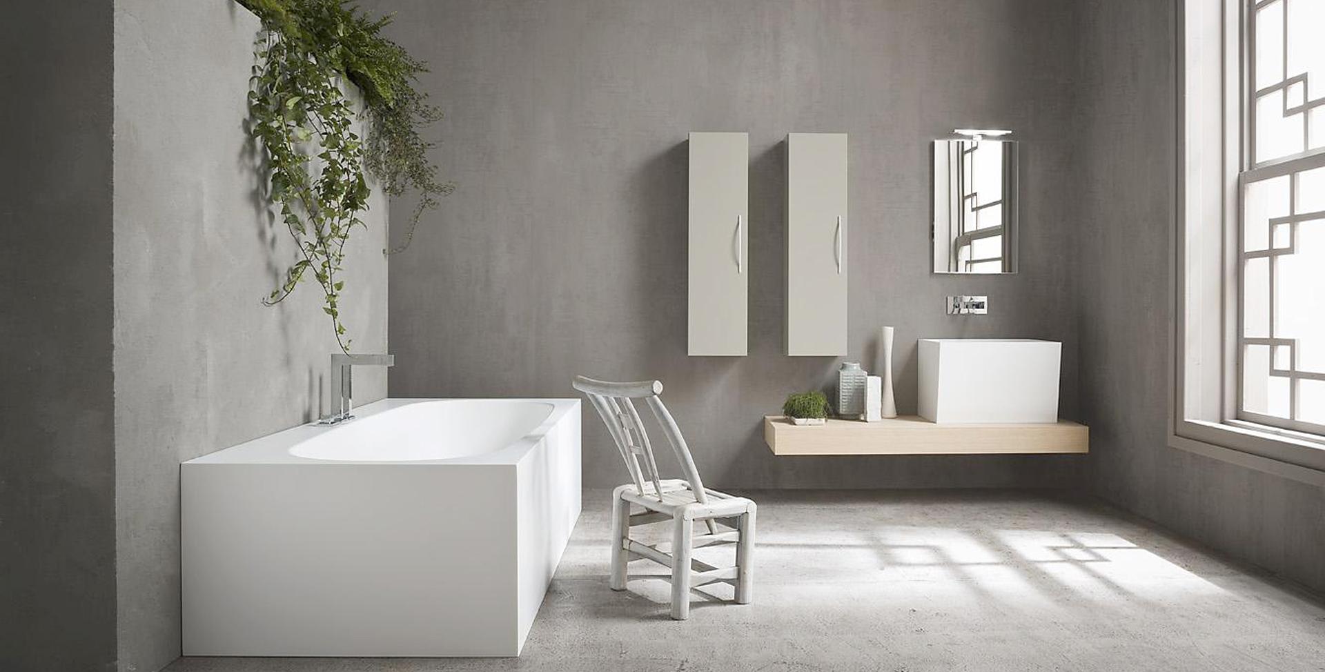 Le temps d'un bain à boulogne, salle de bains design, carrelage